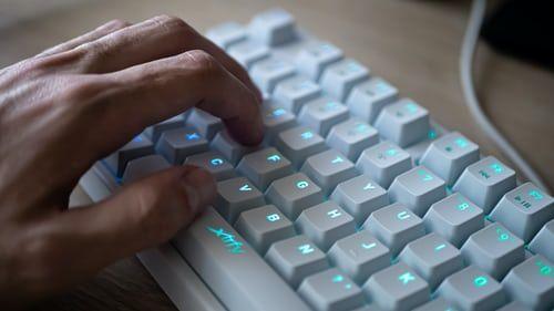 White Gaming Keyboard